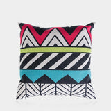 "Colorful Cube B Pillow Cover 18"" x 18"""