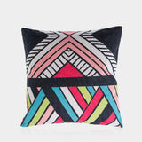 "Colorful Cube C Pillow Cover 18"" x 18"""