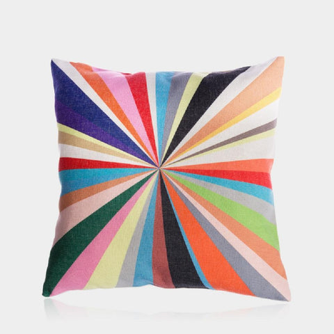 "Colorful World Pillow Cover 18"" x 18"""