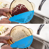 Big Blue Whale Strainer