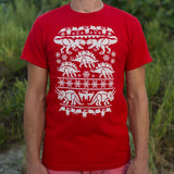 Ugly Dinosaur Sweater T-Shirt (Mens) - Gardennaire