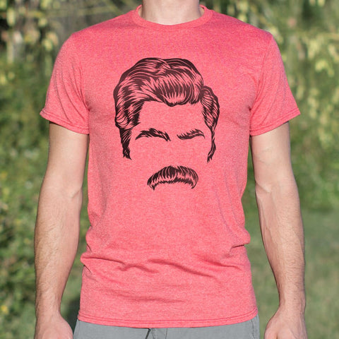 Director Of Mustache T-Shirt (Mens) - Gardennaire