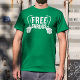 Free Shrugs T-Shirt (Mens)