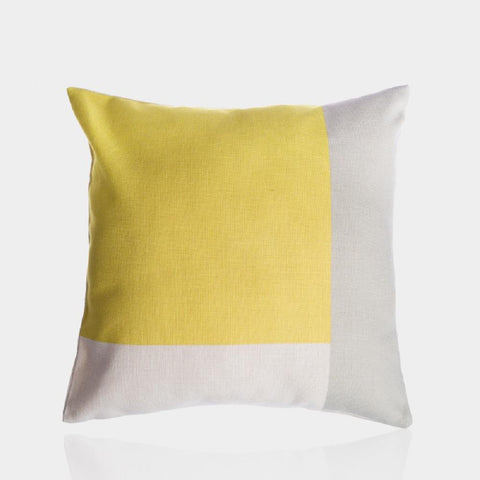 "Fresh Lemon Pillow Cover 18"" x 18"""