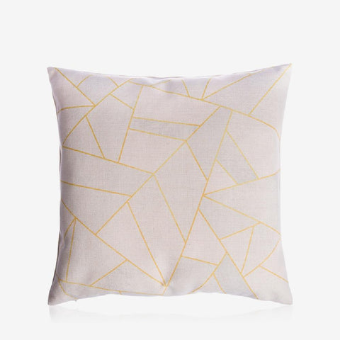 "Golden Mountains Pillow Cover 18"" x 18"""