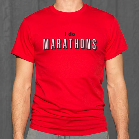 I Do Marathons T-Shirt (Mens)