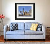 Framed Print, Cloud Gate At Millennium Park 1 - Gardennaire