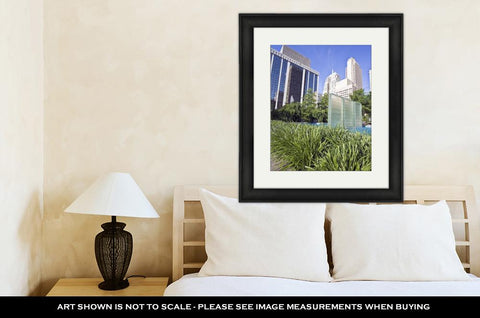Framed Print, Downtown Of Oklahoma City - Gardennaire