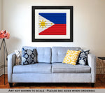 Framed Print, National Flag Of Philippines - Gardennaire