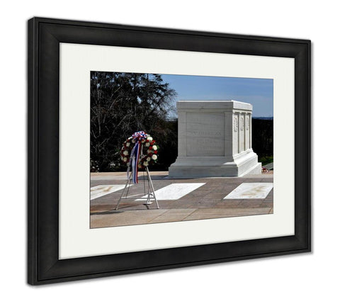Framed Print, Arlington Va Tomb Of The Unknown Soldier - Gardennaire