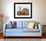 Framed Print, Catholic Church In Albuquerque New Mexico - Gardennaire