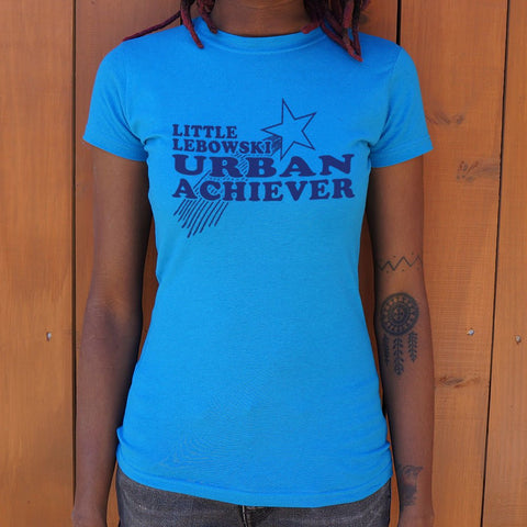 Little Lebowski Urban Achiever T-Shirt (Ladies) - Gardennaire