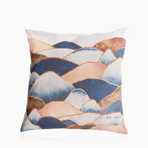 "Mountain in Clouds Pillow Cover 18"" x 18"""