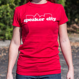 Speaker City T-Shirt (Ladies) - Gardennaire