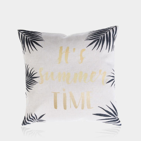 "Summer Time Pillow Cover 18"" x 18"""