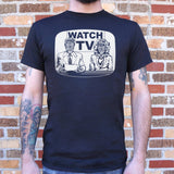 They Live On TV T-Shirt (Mens)