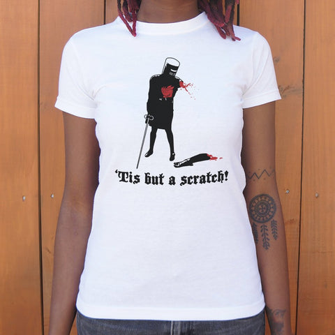 Tis But A Scratch! T-Shirt (Ladies) - Gardennaire