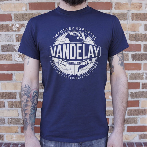 Vandelay Industries Latex And Latex-Related Goods T-Shirt (Mens) - Gardennaire