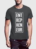Entrepreneur Vertical Half Sleeves T-shirt