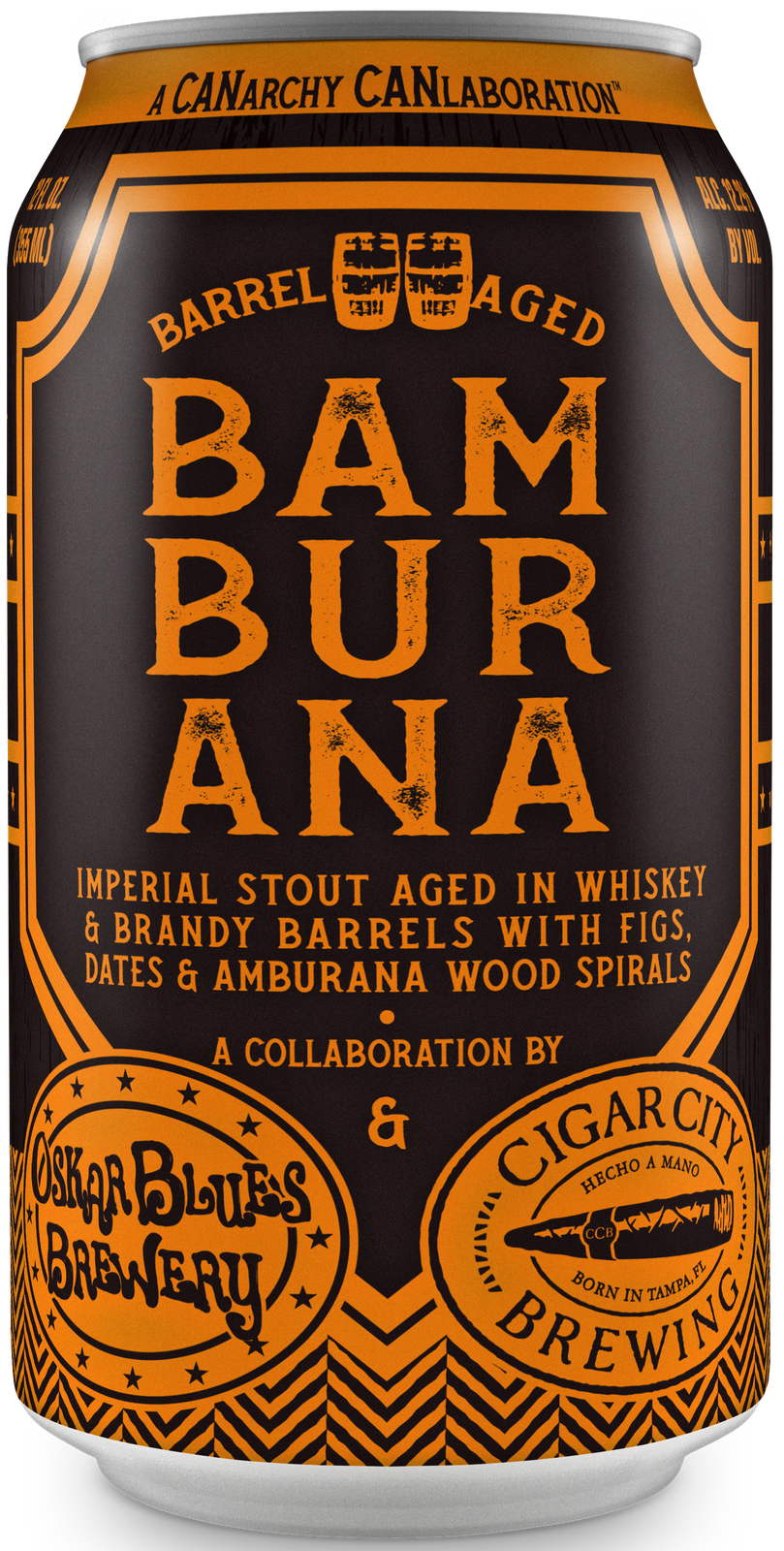 Bamburana Barrel-Aged Imperial Stout with Figs & Dates