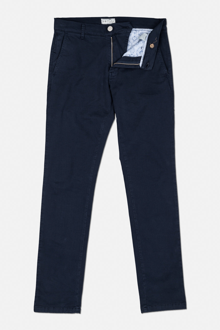 Washed Chino Regular Atlantic