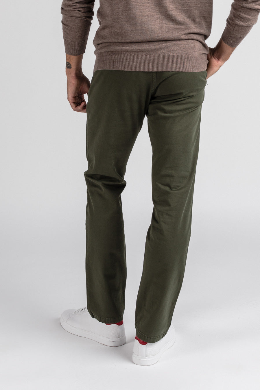 Washed Chino Slim Amazon