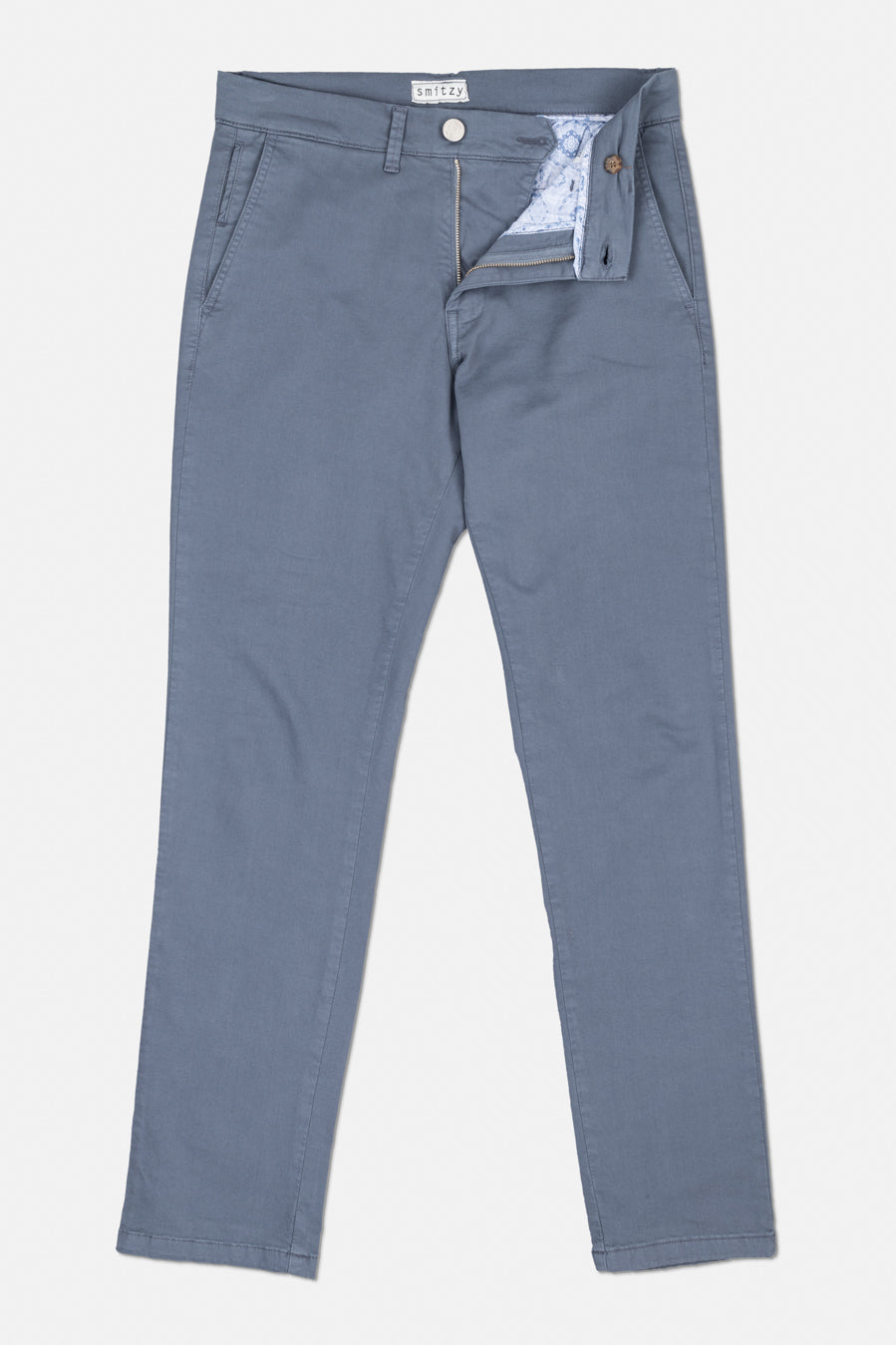 Washed Chino Extra Slim Formentera Blues
