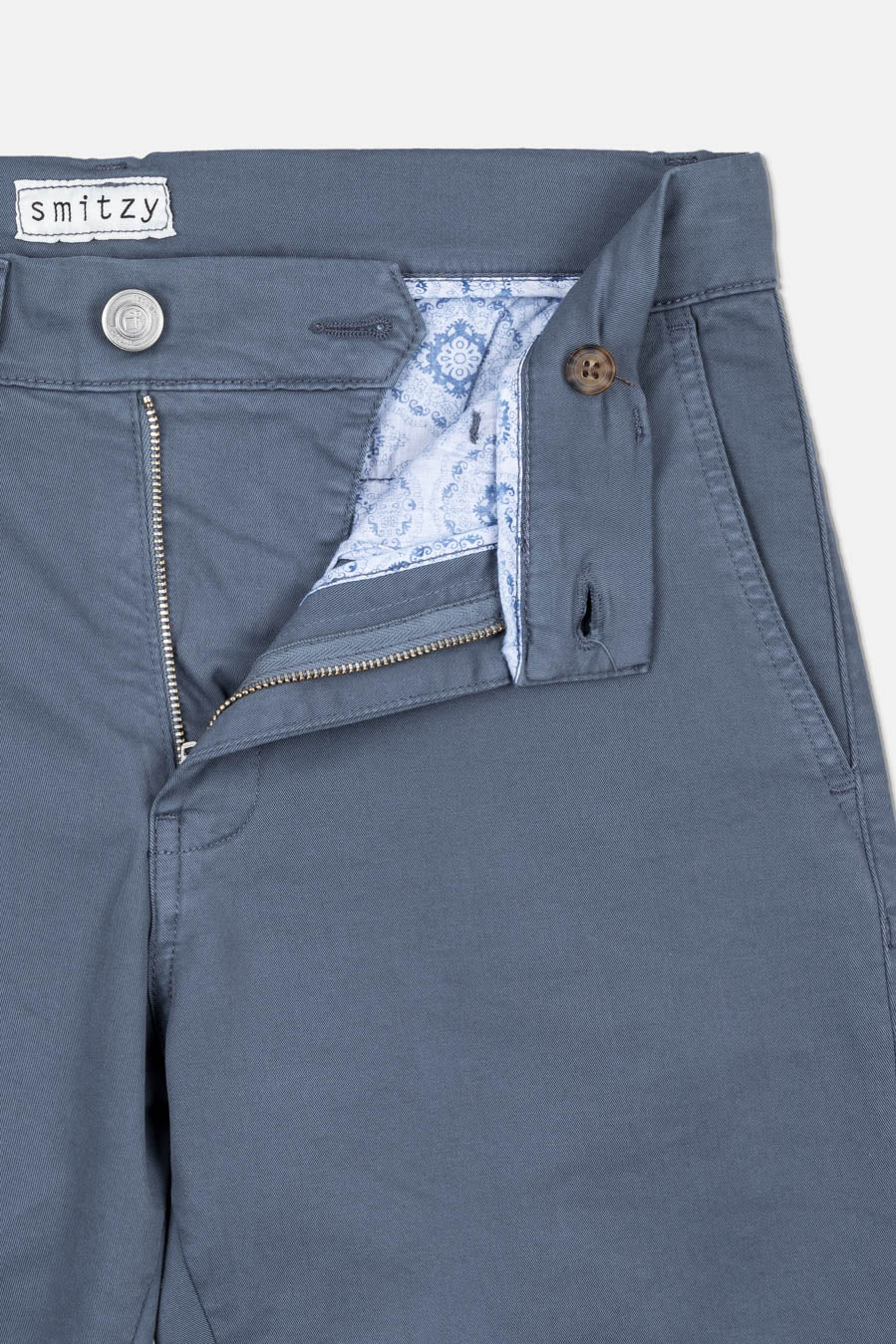 Washed Chino Slim Formentera Blues