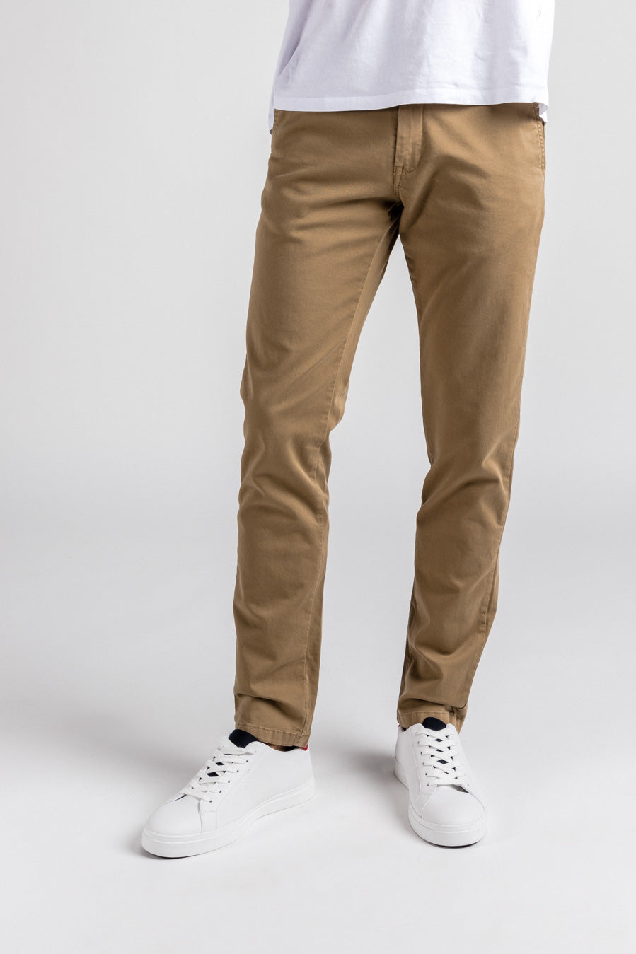 Washed Chino Slim Serengeti