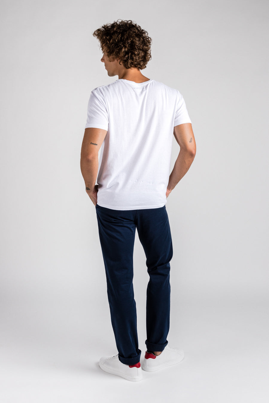Washed Chino Extra Slim Atlantic
