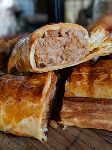 Homemade BBQ Pulled Pork Sausage Roll