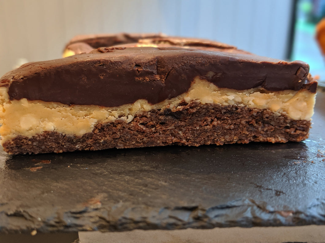 Peanut Butter Cup Bar (Dairy and Gluten Free)