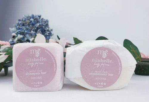 Adore Shampoo & Conditioner Bars 95g - Mia Belle