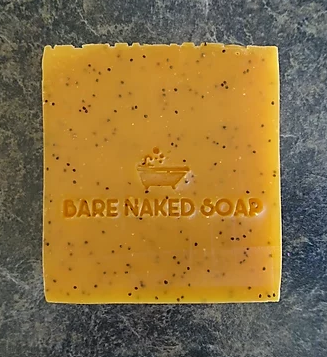 Annatto & Poppy 160g - Bare Naked Soap