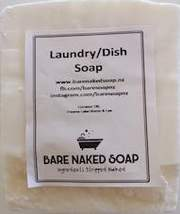 Natural Castile Cleaning Soap 160g - Bare Naked Soap