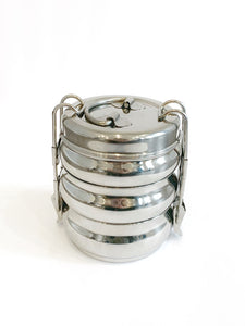 3-Tier Stainless Steel Tiffin Food Carrier