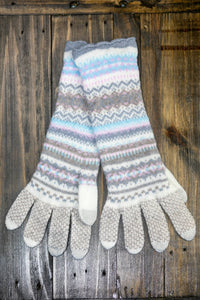 Northern Isles Merino Wool Gloves | Mist