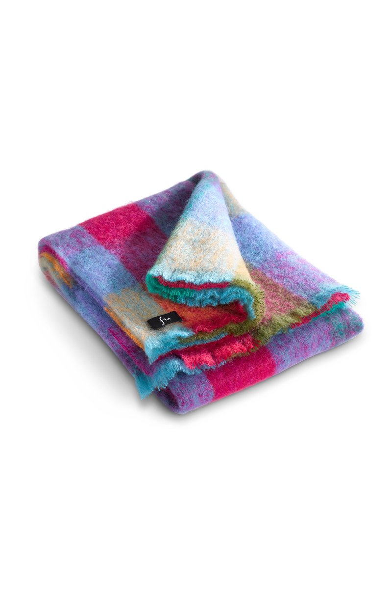 Forever Spring Luxuriously Soft Mohair Throw