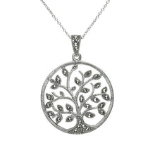 Load image into Gallery viewer, Tree of Life Sterling Silver Necklace