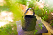 Load image into Gallery viewer, ABBIE Raffia Bucket Bag
