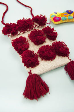 Chiapas Pom Pom Purse | Global Trunk Kids