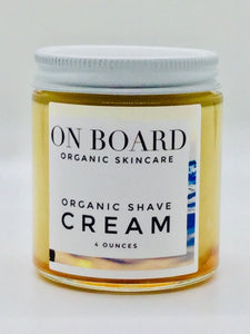 Organic After Shave Cream Moisturizer