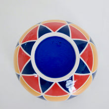 Load image into Gallery viewer, Wheel Thrown Hand Painted Porcelain Bowl