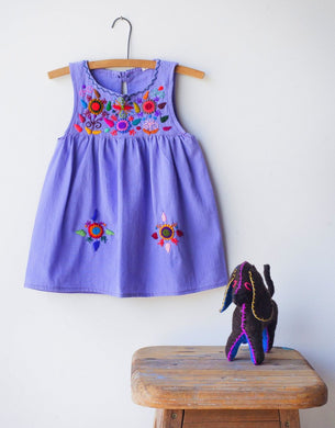 Jardinita Dress | Lilac | Global Trunk Kids