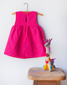 Jardinita Dress | Magenta | Global Trunk Kids