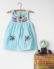Load image into Gallery viewer, Jardinita Dress | Pale Blue | Global Trunk Kids