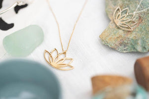 New Beginnings Gold Necklace