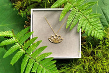 Load image into Gallery viewer, New Beginnings Gold Necklace