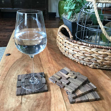 Rosewood Coasters (set of four) IPM082