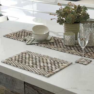 Whitewashed Rosewood Placemats (set of two) IPM082
